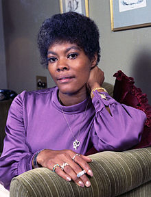 Dionne Warwick in 1973 by Allan Warren.