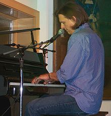 "Paul performing ""Home"" on piano in Ogunquit, Maine, the state in which he grew up. (August 5, 2006)"