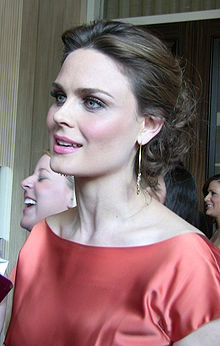 Emily Deschanel at 23rd Genesis Awards, March 2009