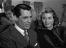 Cary Grant and Ingrid Bergman in Notorious (1946)