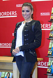 Longoria at a book signing for her book Eva's Kitchen in April 2011