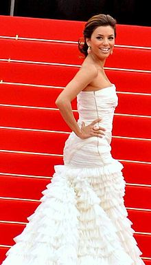 Longoria at the 2010 Cannes Film Festival.