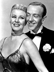with Ginger Rogers in The Barkleys of Broadway