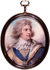 Miniature of George by Richard Cosway (1792).