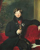 George IV, ca. 1822, by Sir Thomas Lawrence.