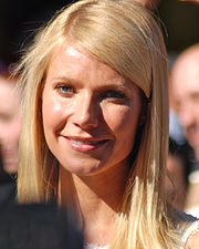 Paltrow at a ceremony for receiving her Hollywood Walk of Fame star, December 2010
