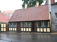 Andersen's childhood home in Odense
