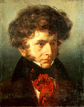 Painting of a young Berlioz by Émile Signol, 1832.