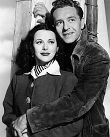 Hedy Lamarr with Paul Henreid in The Conspirators (1944)
