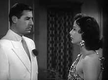 John Hodiak and Lamarr in A Lady Without Passport (1950)