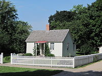 Hoover birthplace cottage, West Branch, Iowa