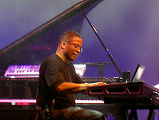 Hancock performing in concert, 2006