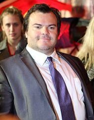 Jack Black at the Kung Fu Panda 2 premiere in June 2011
