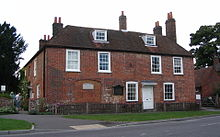 The cottage in Chawton where Jane Austen lived during the last eight years of her life, now Jane Austen's House Museum
