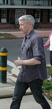 Cooper marching on January 11, 2007, in New Orleans against violence