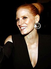 Chastain at the Toronto International Film Festival in September 2011