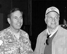 McCain in Baghdad with General David Petraeus, November 2007