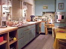 Julia Child's kitchen at the Smithsonian National Museum of American History.