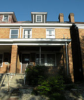 Warhol's childhood home. 3252 Dawson Street, South Oakland neighborhood of Pittsburgh, Pennsylvania