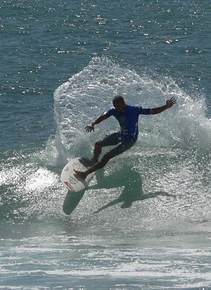 Slater at Trestles, San Clemente State Beach, California