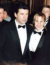 Basinger with Alec Baldwin at the 1994 César Awards ceremony in Paris.