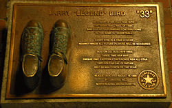 A Larry Bird Monument.