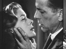 Bacall and Bogart in Dark Passage