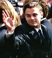 DiCaprio at the pre-premiere of Gangs of New York at the 2002 Cannes Film Festival.