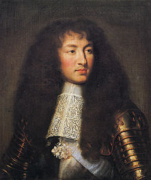 Louis XIV, King of France, in 1661