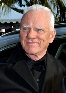 Malcolm McDowell at the 2011 Cannes Film Festival.