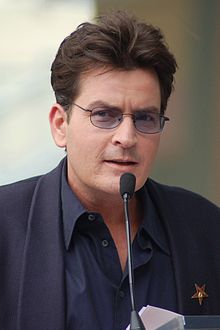 Charlie Sheen is Martin's youngest son.