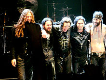 Ozzy Osbourne band in 2011
