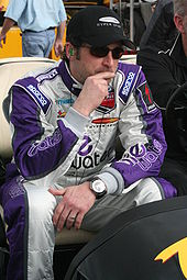Dempsey at the 2008 Rolex 24 Hours of Daytona.