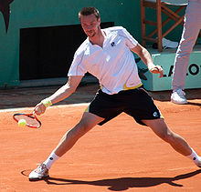 Söderling became the first Swede to reach the French Open final since his coach Magnus Norman in 2000.