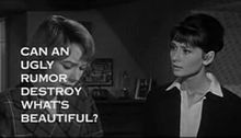 Shirley MacLaine and Hepburn in the trailer for The Children's Hour (1961)