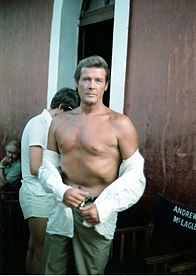Roger Moore in 1979
