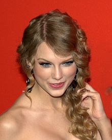 Swift at the Time 100 Gala in 2010.
