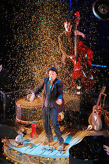 Tom Waits in Prague in 2008