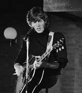 Gibb playing Gibson J-160E on Dutch television Twien in 1968