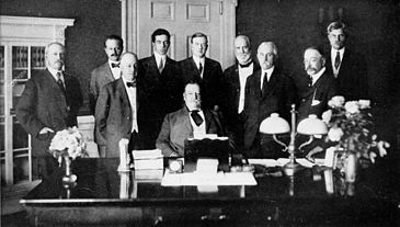President William H. Taft's first cabinet, 1910