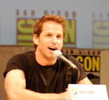 Snyder at the 2010 San Diego Comic-Con International.