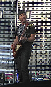 The Edge in June 2005