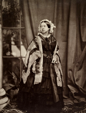 Victoria photographed by J. J. E. Mayall, 1860