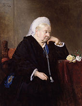 Queen Victoria aged 80, 1899