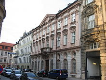 Palais Holnstein in Munich, the residence of Benedict as Archbishop of Munich and Freising