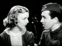 Stewart made four features with Margaret Sullavan, the second of which was The Shopworn Angel (1938)
