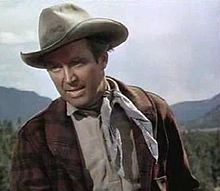 Stewart made eight films for director Anthony Mann. Five of them were Westerns, including The Naked Spur (1953), in which Stewart is seen here.