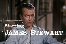 Rear Window (1954) was one of four films Stewart made with Alfred Hitchcock. Stewart became the highest-grossing star of 1954 as a result.