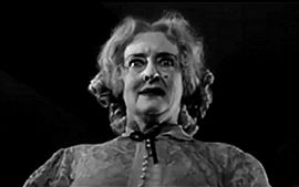 Davis received her final Academy Award nomination for her role as demented Baby Jane Hudson in What Ever Happened to Baby Jane? (1962), opposite Joan Crawford