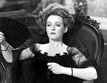 Davis often played unlikable characters, such as Regina Giddens in The Little Foxes (1941)
